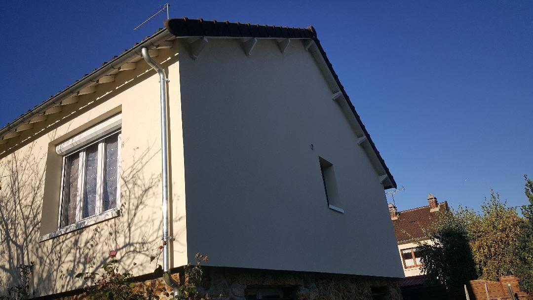 Maison après isolation extérieure 77